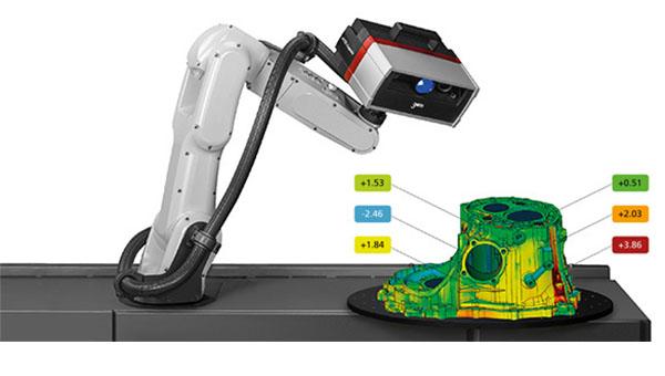我们的三维扫描仪在工业中的用途